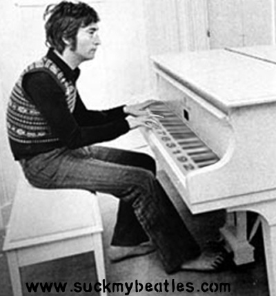 John Lennon Playing the Code Piano