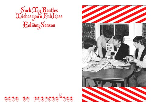 Beatles Christmas Card