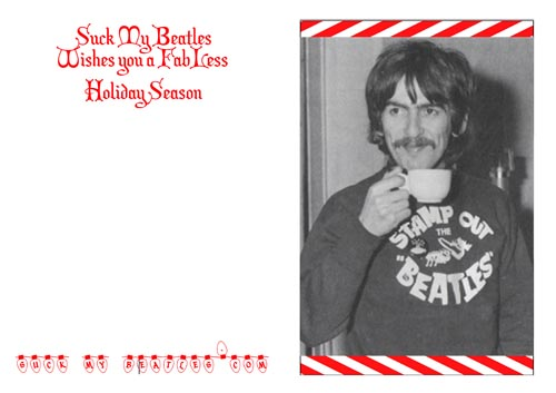 George Harrison Christmas Card