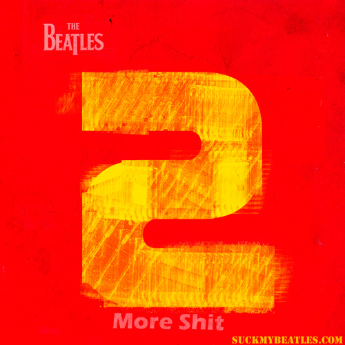 Album cover for the follow up to One, beatles two
