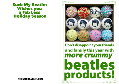Beatles are Crummy Christmas Card