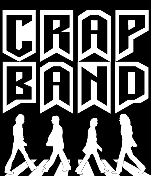 The beatles are a crap band free t-shirt iron on
