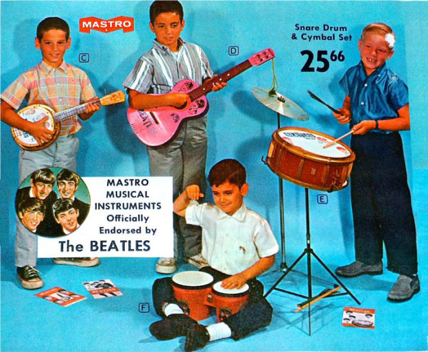 Beatles musical toys for kids